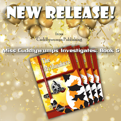 New Release from Cuddlywumps Publishing! The Mythmakers.
