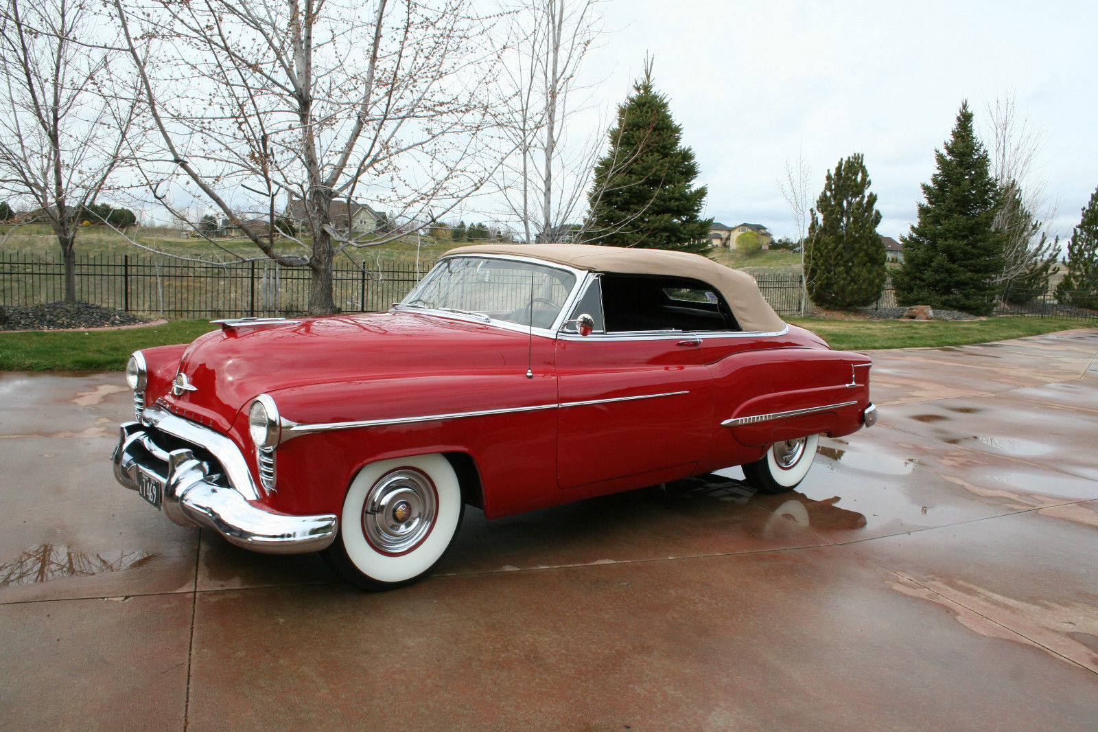 Oldsmobile Cars: All American Classic Cars: 1950 Oldsmobile 98 DeLuxe 2