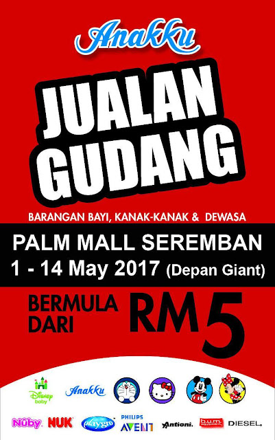 Jualan Gudang Anakku Warehouse Clearance Sale