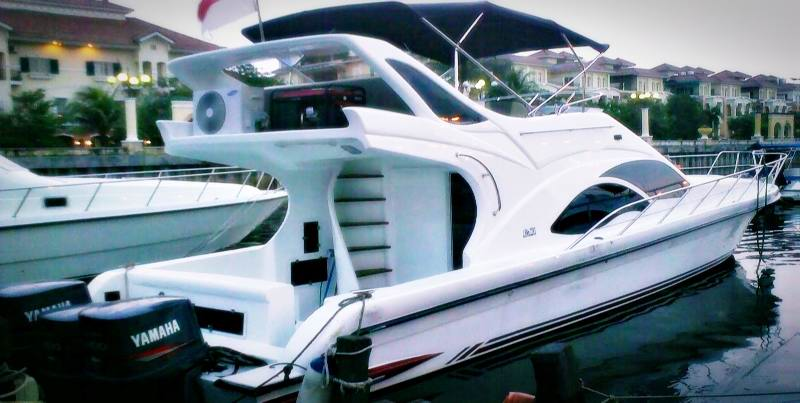Sewa Kapal Speadboat Dari Marina Ancol