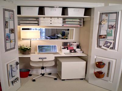 11 Desain Model Meja Kerja Minimalis Untuk Rumah dan Kantor Berukuran Kecil Multifungsi