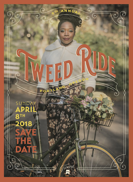 Save the Date! The Portland Tweed Ride will be on Sunday, April 8, 2018