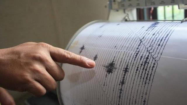 Gempa Bumi Jumat 19 Oktober 2018 di Sibolga