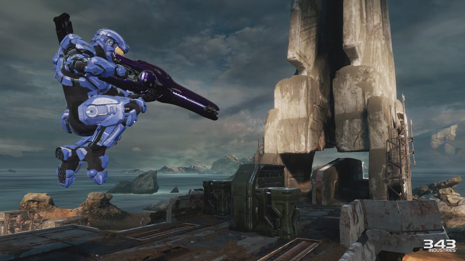 Novas imagens e gameplay do mapa Relic de Halo 2