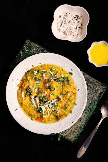 khichdi recipe with coconut milk