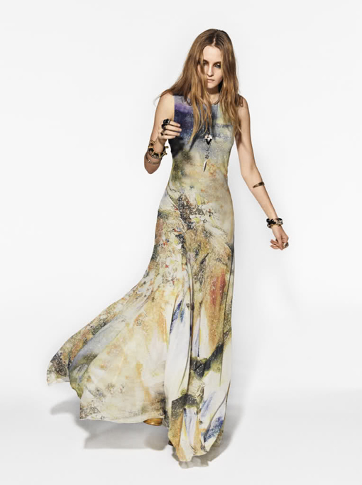 Style Hippie Rock Fashion Fall 2012 Ladies Mails