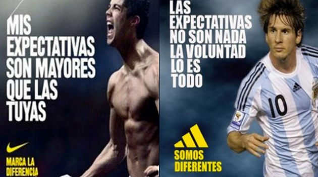 "Nike ya ""marcó la diferencia"" mucho antes que adidas"