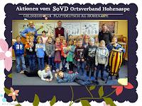 Geldsegen für Plattdeutsch AG Hohenaspe
