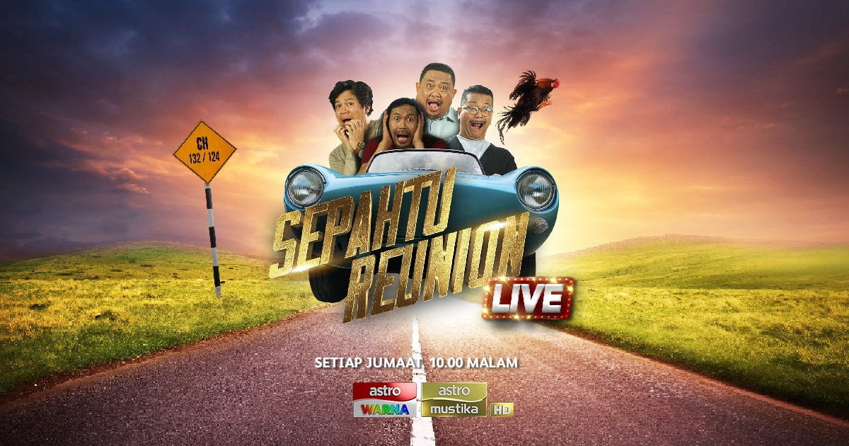 #pickupline Sepahtu Reunion Live 2017 semalam
