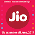 Wait...FREE Jio will be continued till June, 2017