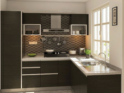 70 Desain Terbaik Dapur Minimalis Bentuk L