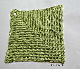 Free Easy Crochet dishcloth pattern FREE Crochet Pattern