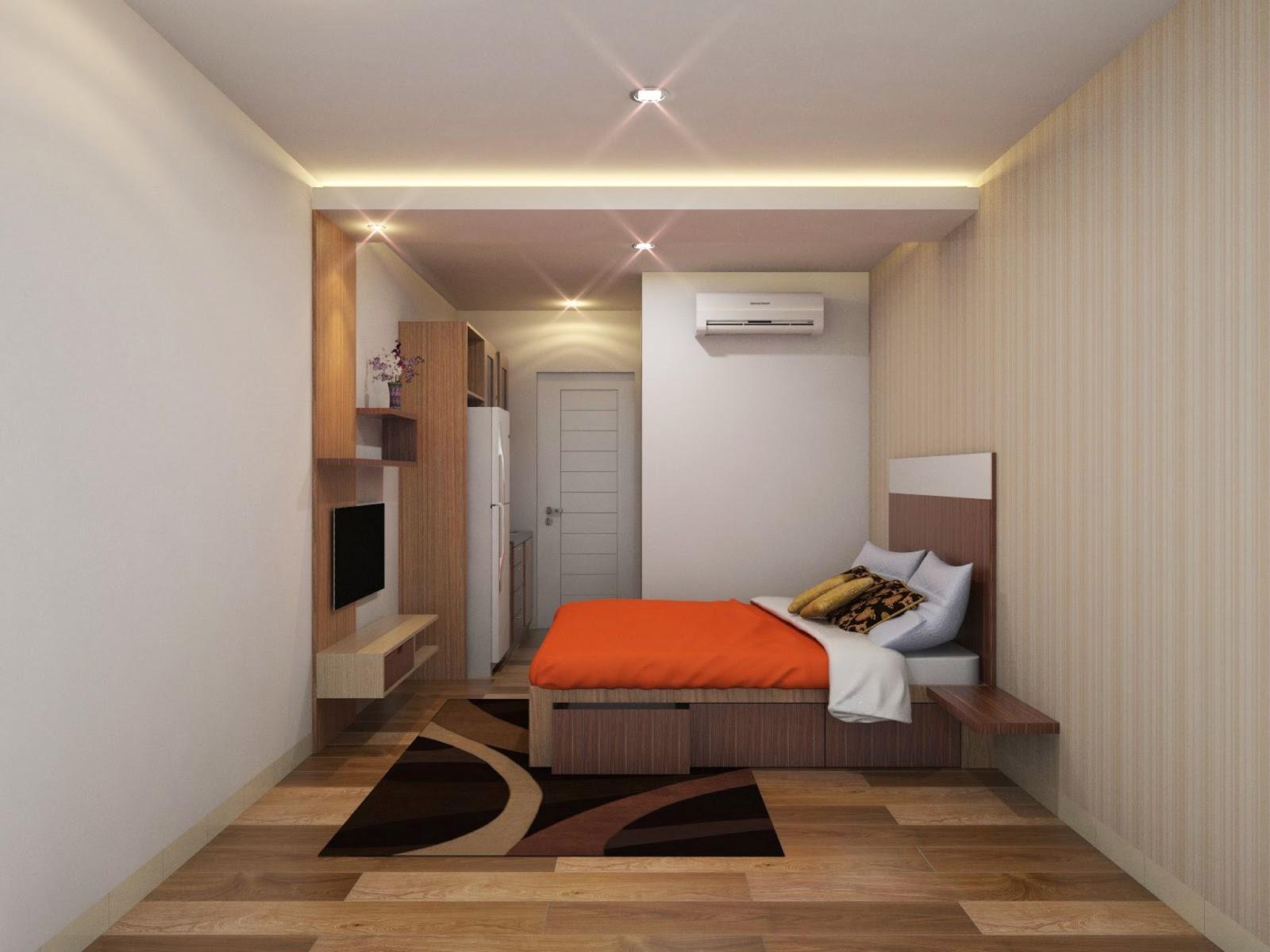 Ide Dan Trik Lengkap Desain Interior Apartemen Studio Minimalis