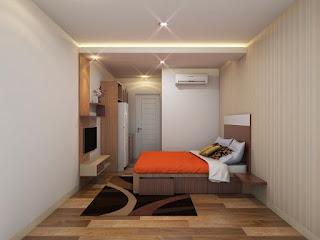 interior apartemen studio murah