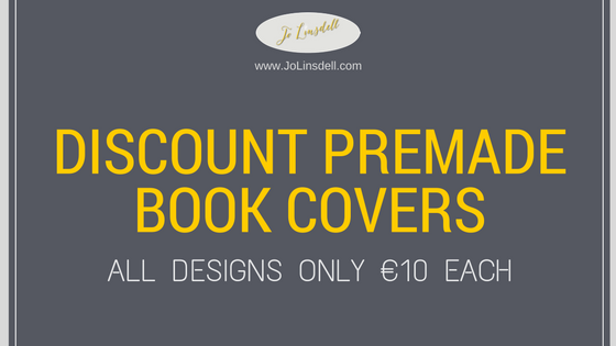 Discount Premade Book Covers. All designs just €10 each