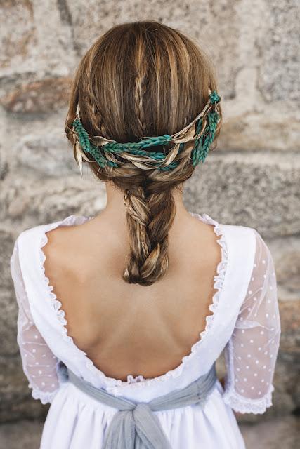 #peinadosniña #trenzas #primeracomunion #Navascues