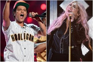 Bruno Mars, Kesha set to perform at the forthcoming 60th annual Grammy Awards