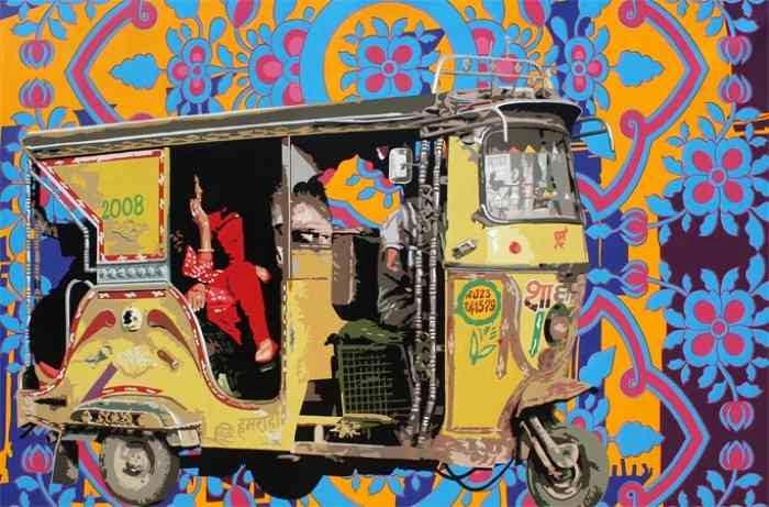 Современный индийский художник. Sohan Jakhar 3