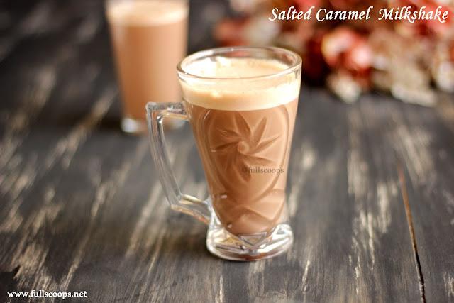 Salted Caramel Milkshake