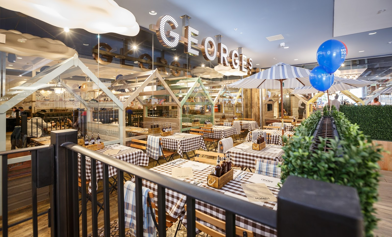 Georges Restaurant Newcastle Menu