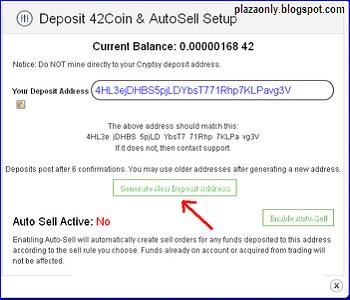 Cara Trading Cryptocoin di Cryptsy
