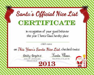 Blank Christmas Gift Certificate Template gHYWE