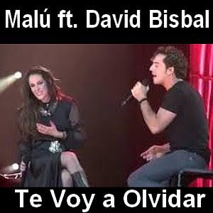 Malu - Te Voy a Olvidar ft. David Bisbal