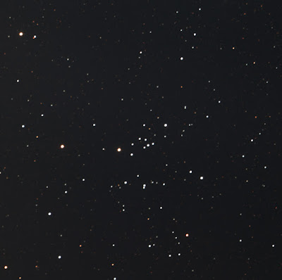 open cluster Messier 25 in colour