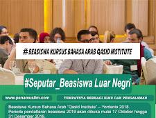 "Beasiswa Kursus Bahasa Arab ""Qasid Institute"" – Yordania 2018."