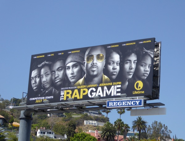 Rap Game series premiere billboard