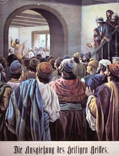 Pfingsten - Die Ausgiessung des Heiligen Geistes