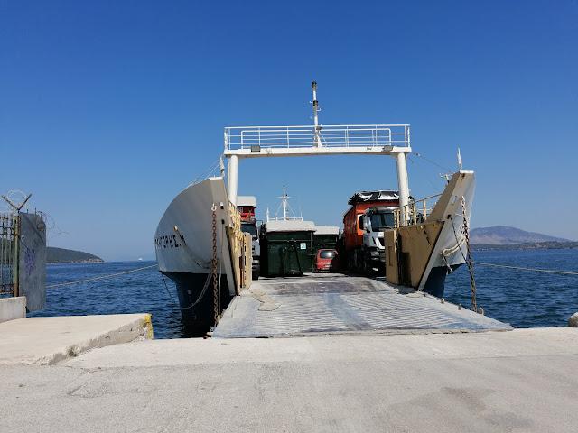 Θεσπρωτία: Μέσω Ηγουμενίτσας η μεταφορά των σκουπιδιών της Κέρκυρας προς την Κοζάνη (+ΒΙΝΤΕΟ)
