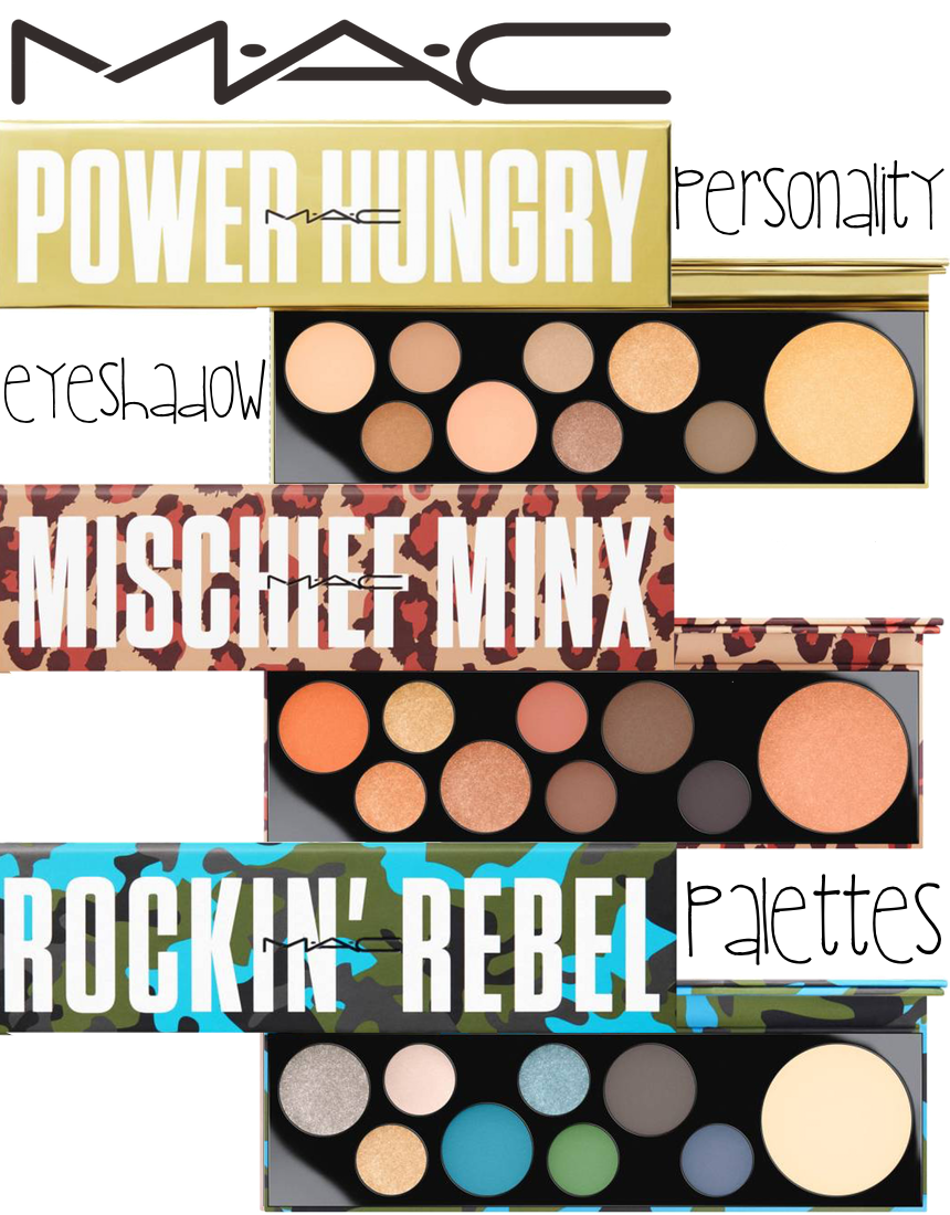 M·A·C Girls Personality Eyeshadow Palette