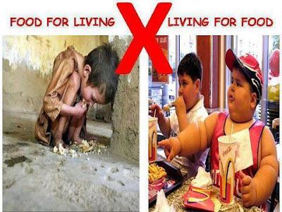 Makan Untuk Hidup @ Hidup Untuk Makan?