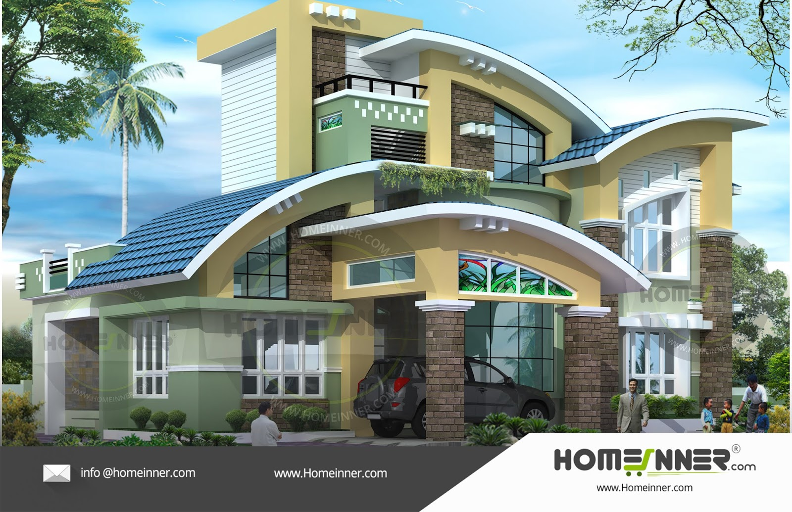 4BHK readymade house plan 2830 sq ft 4 Bedroom 4 Bath