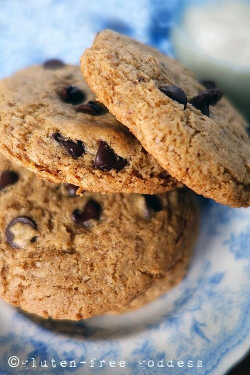 Buckwheat chocolate chip cookies #vegan #glutenfree