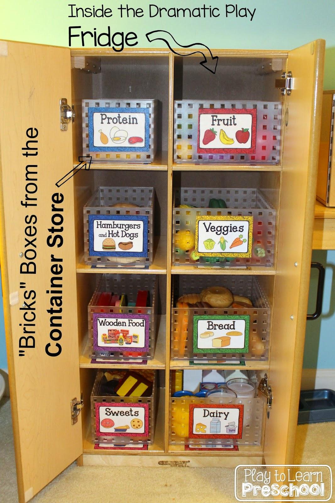 Play To Learn Preschool Kitchen Refresh