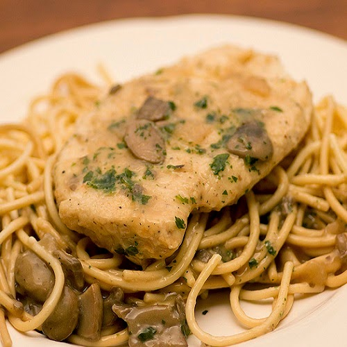 Copycat Restaurant Recipes: Olive Garden's Chicken Marsala