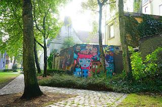 Le Chameau Bleu - Street Art à Gand