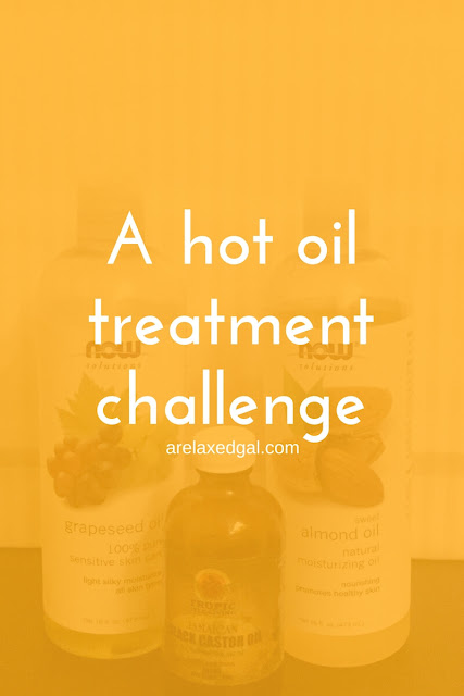 See which natural oils I'll be using on my relaxed hair during a 30 day hot oil treatment challenge. | arleaxedgal.com