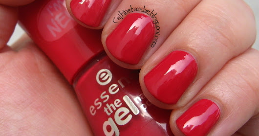 Essence The Gel 92 Red Carpet?