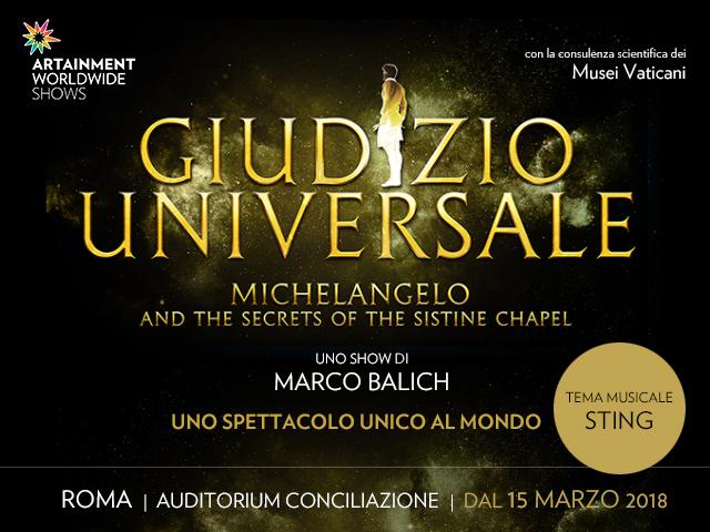 Giudizio Universale e i segreti della Cappella Sistina - Auditorium della Conciliazione