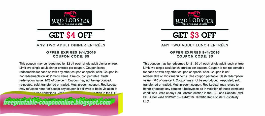image regarding Red Lobster Coupons Printable named Purple lobster coupon 2019 printable