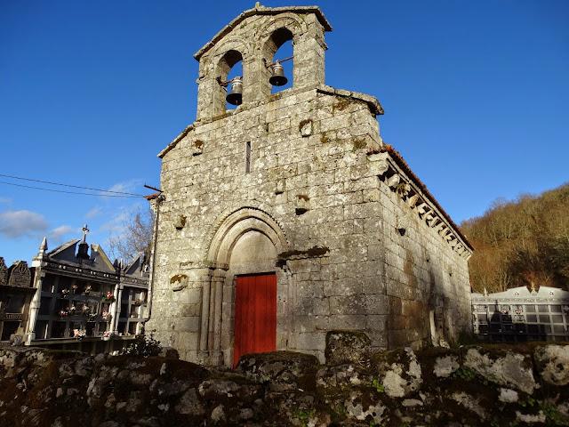 Iglesia de Lamas en Carballeda de Avia