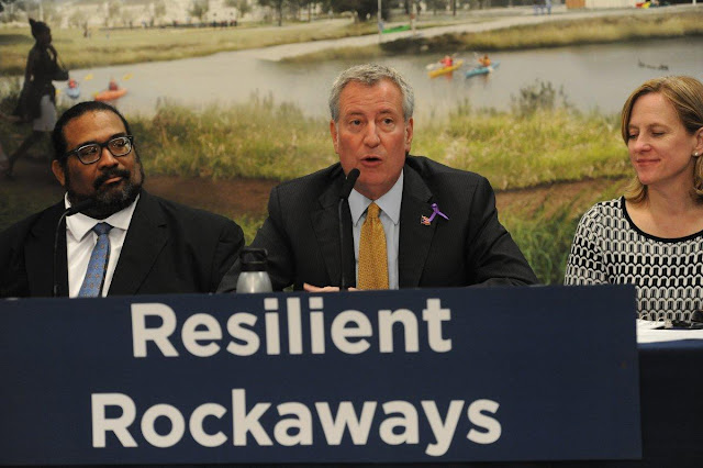 De Blasio announces plan to spend $145M on parks that will protect Rockaways from flooding Onlinelatesttrends