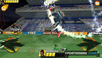 Link Unduh Football King Rush Mod Unlimited Money/Balls/Tickets For Android Terbaru