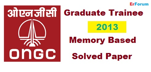 ongc-2013-memory based-paper