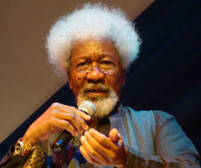"""Go back to school. Your problem is ignorance"" – Soyinka blasts Nigerians asking him to tear his green card"