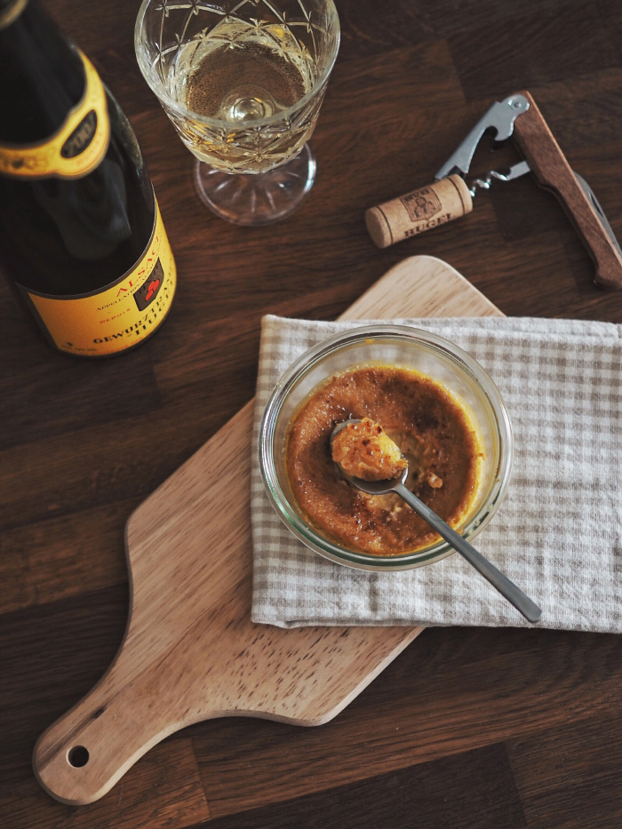 Recette crème brûlée à la mandarine et au thé earl grey