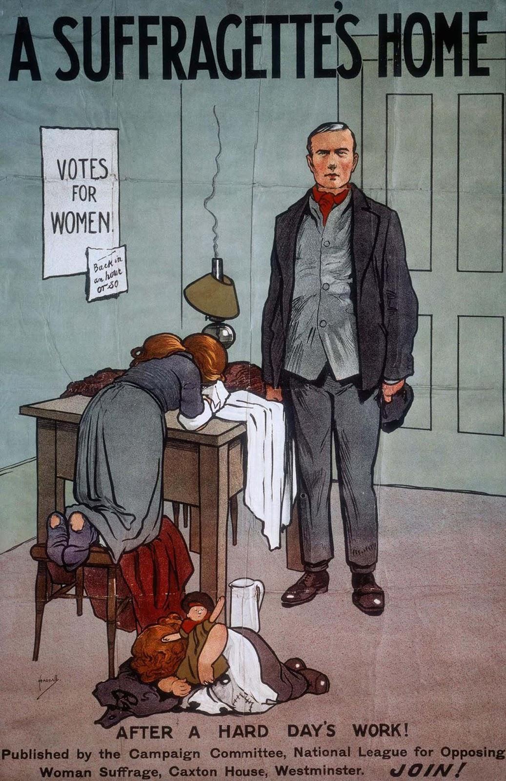 A Suffragette's Home. 1910.